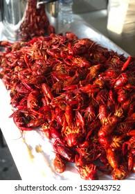 The Southern Louisiana crawfish boil