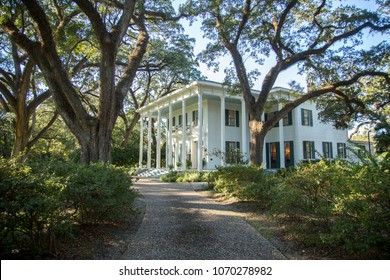 A southern mansion in Mobile, Alabama