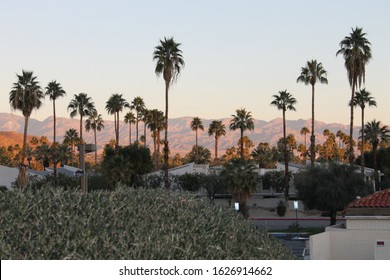 Southern Palm Springs area, California
