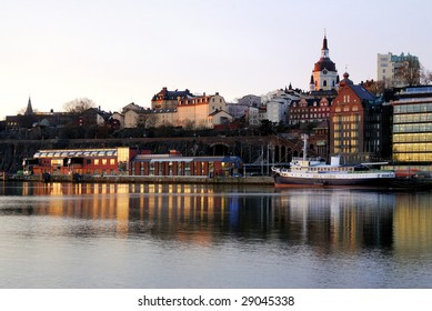 The southern part of Stockholm.