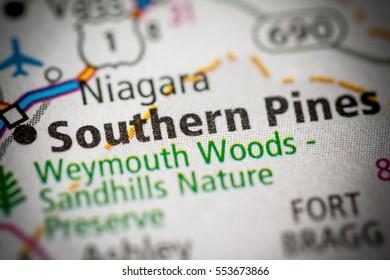 Southern Pines. North Carolina. USA