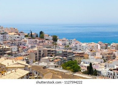southern spanish city by the sea