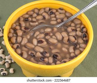 Southern style black eye peas