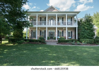 Southern style home with front porches