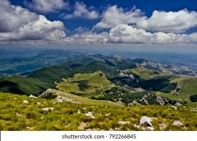 Southern Velebit from Sveto Brdo - Paklenica National Park