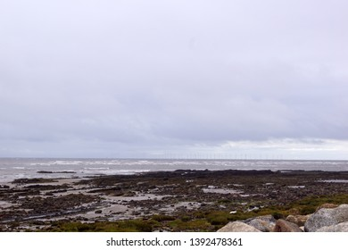 The Southerness Beach is a beach on a headland in the Scottish town of Southerness.
