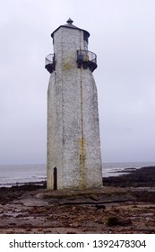 The Southerness Lighthouse is a lighthouse on a headland in the Scottish town of Southerness.