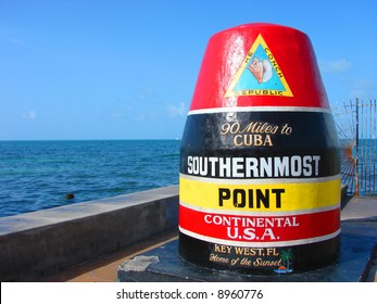 Southernmost Point of the Contiguous United States in Key West Florida