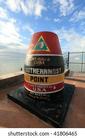 Southernmost point in Key West, FL, USA