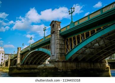 Southwark Bridge, London UK