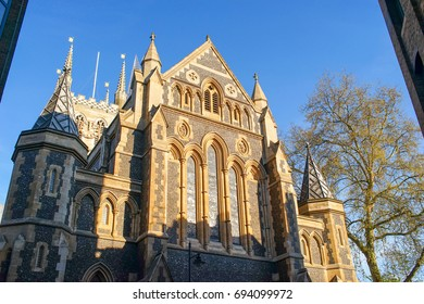 Southwark Cathedral, London. A  place of Christian worship for more than 1,000 years