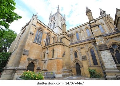 Southwark church cathedral London UK