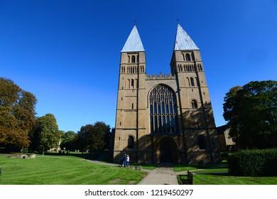 Southwell Minster, Nottinghamshire, uk.