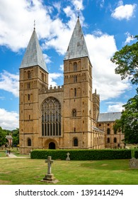 Southwell Mister and Romanesque Cathedral in Nottinghamshire, England, UK