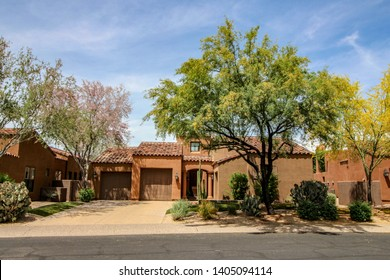 Southwest style home in Phoenix Arizona