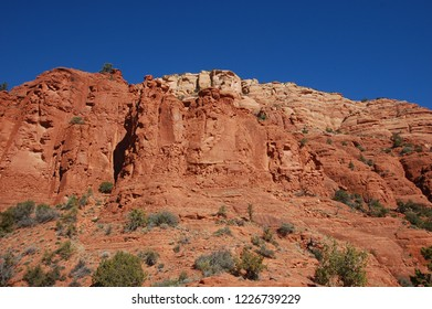 Southwestern sandstone monument