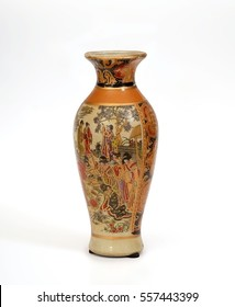 Souvenir Chinese vase in ancient traditions