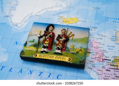 Souvenir magnet from Scotland