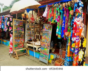Souvenir shop in Cebu, Philippines