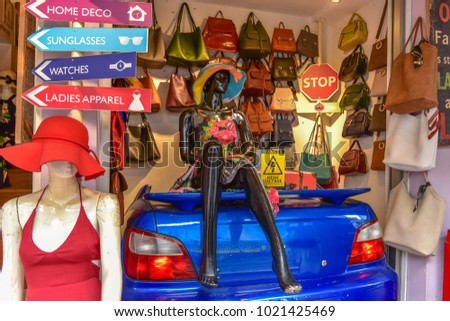 8455794ba91b0 Souvenir Shop Haji Lane Singapore Use Stock Photo (Edit Now ...