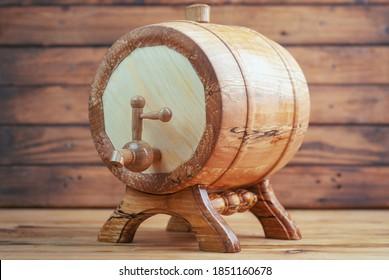 souvenir wooden keg, wine keg