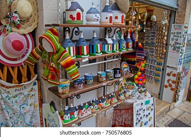 Souvenirs In Alberobello, Italy