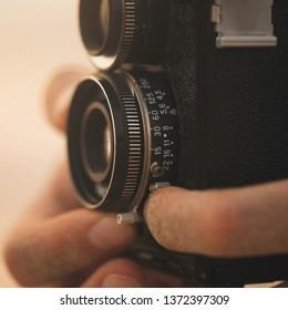 Soviet camera Lubitel 166