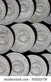 Soviet commemorative rubles with the image of Ulyanov (Lenin)