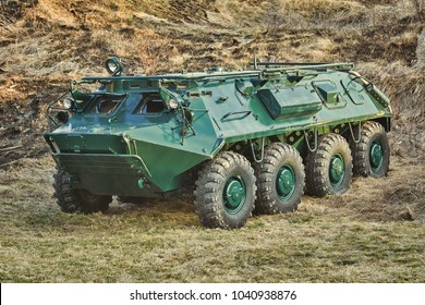 Soviet Eight-wheeled Armoured Personnel Carrier (BTR)