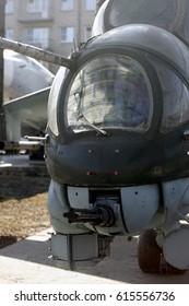 Soviet helicopter cockpit