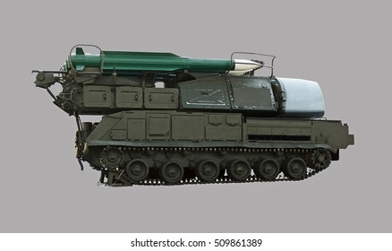 soviet missile launcher covered with snow
