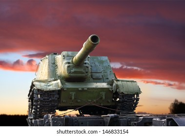 Soviet multirole fully enclosed and armored assault gun