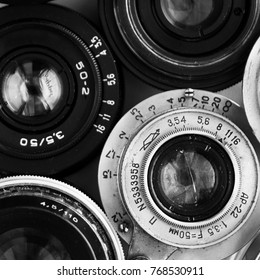 Soviet retro camera composition  minimalism conceptualism, art photo background