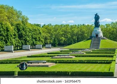 Soviet War Memorial in the Treptower Park in Berlin