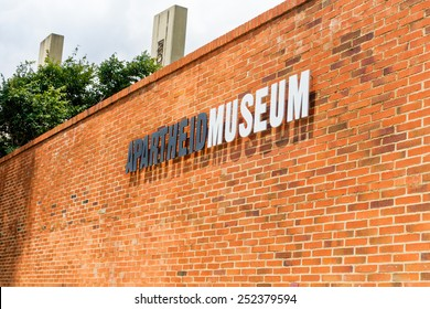 Soweto - South Africa, Jan 30: Apartheid museum pictured on January 30th, 2015 in Johannesburg ,South Africa.  SOWETO is the most populous urban area in the country.
