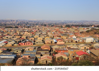 Soweto - South West Township in Johannesburg ,South Africa. SOWETO is the most populous black urban residential area in the country, with a population of around a million