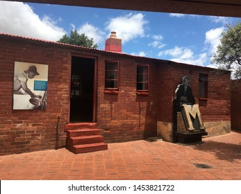 Soweto/Johannesburg - 06/06/2019  photo of Nelson Mandela's House in Soweto South Africa