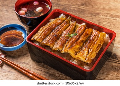 Soy sauce Japanese food to grilled eel