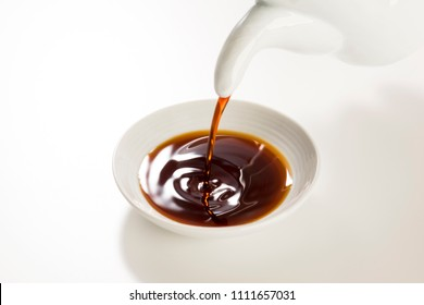 Soy sauce is a traditional fermented Seasonings, used in Asia.