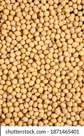 Soya Beans, Soybeans Background. Soybeans texture. top view. Healthy food. soy pattern. soya Raw bean seed food organic.