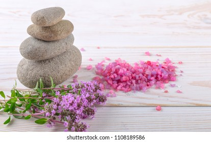 SPA and accessories for oriental massage