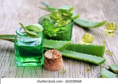 spa of aloe vera