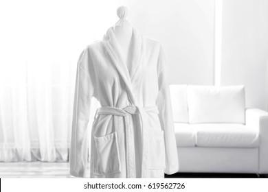 Spa bathrobe on mannequin