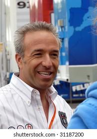 SPA, BELGIUM - MAY 8: Dutch racing driver Tom Coronel at circuit Spa-Francorchamps May 8, 2009 in Spa (Belgium).