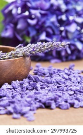 Spa composition with lavender