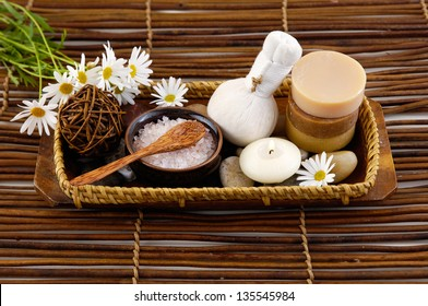 Spa composition made of and other elements
