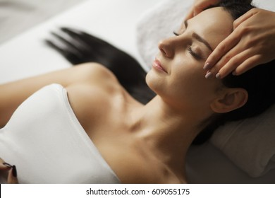 Spa Face Massage. Facial Treatment. Spa Salon. Therapy