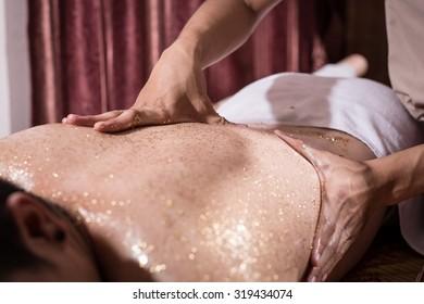 Gold Massage Images Stock Photos Vectors Shutterstock