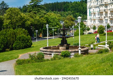 spa Marianske Lazne in czech republic - Shutterstock ID 1942455670