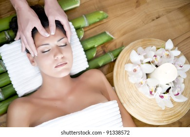 spa massage and relaxation